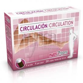 NUTRIORGANS CIRCULAÇÃO 20 VIALES