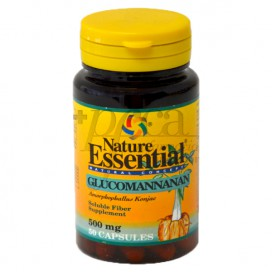 GLUCOMANNANAN 500MG 50 CAPS NATURE ESSENTIAL