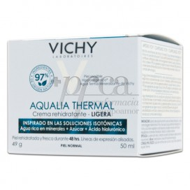VICHY AQUALIA THERMAL CREMA LIGERA PIEL NORMAL 50 ML