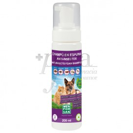 MENFORSAN FOAMY SHAMPOO FOR CATS AND DOGS 200ML