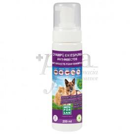 MENFORSAN FOAMY SHAMPOO FOR CATS AND DOGS 200ML