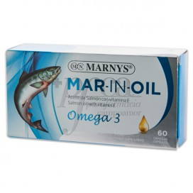 MAR IN OIL OMEGA 3 500 MG 60 CAPS MARNYS