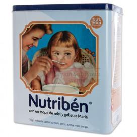 NUTRIBEN 8 CEREALES TOQUE MIEL Y GALLETAS 600G