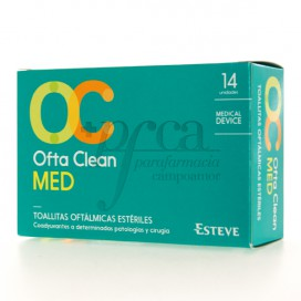 OFTACLEAN MED 14 TOALLITAS