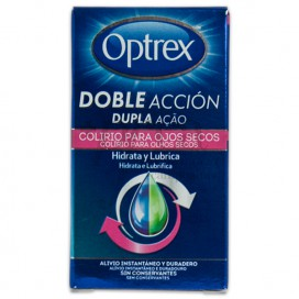 OPTREX DOUBLE ACTION EYE DROPS FOR DRY EYES 10 ML