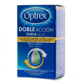 OPTREX DOUBLE ACTION EYE DROPS FOR ITCHY EYES 10 ML