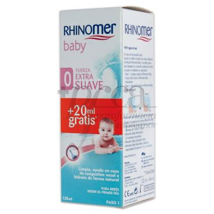 RHINOMER BABY EXTRA SUAVE 135 ML PROMO