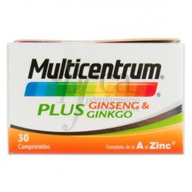 MULTICENTRUM PLUS GINSENG GINKGO 30 TABLETTEN
