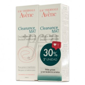 AVENE CLEANANCE MAT EMULSION 2X40ML PROMO