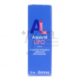 AQUORAL LIPO EYE SOLUTION 10 ML