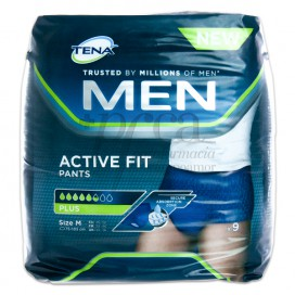 TENA MEN ACTIVE FIT PANTS PLUS T/M 9 UDS