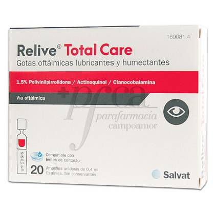 RELIVE TOTAL CARE GOTAS 20 AMPS DE 0,4ML