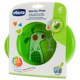 CHICCO PLATE UNISEX 6M+