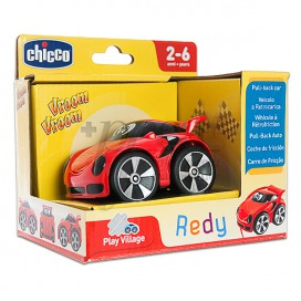 CHICCO MINI TURBO TOUCH ROJO 2-6 AÑOS