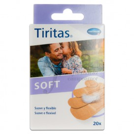 TIRITAS SENSITIVE SURTIDO 20 UDS