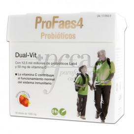 PROFAES4 DUAL VIT 30 STICKS STRAWBERRY FLAVOUR