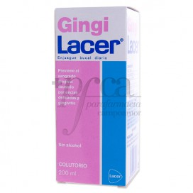 GINGILACER MUNDWASSER 200 ML