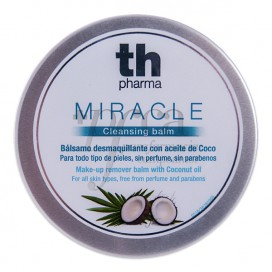 TH MIRACLE CLEANSING BALM WITH COCONUT OIL 120 ML