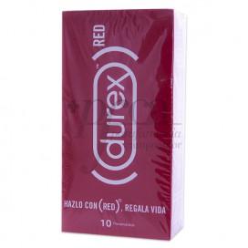 DUREX CONDOMS RED 10 UNITS