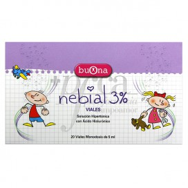 NEBIAL 3% 20 VIALES X 5 ML