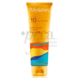 POLYSIANES GEL NACARADO AO MONOI SPF10 125 ML