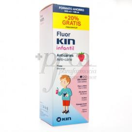 FLUORKIN INFANTIL COLUTÓRIO 500 ML + 100 ML PROMO