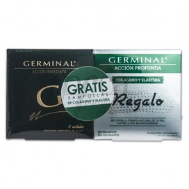 GERMINAL IMMEDIATE ACTION + DEEP ACTION COLLAGEN AND ELASTIN PROMO