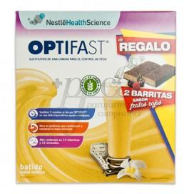 OPTIFAST BATIDO VAINILLA 9 SOBRES + REGALO PROMO