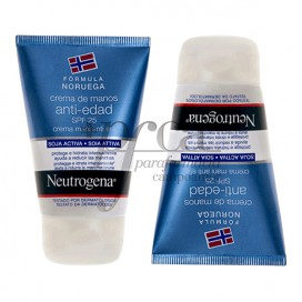 NEUTROGENA ANTI-AGING HANDCREME SPF25 2X50 ML PROMO