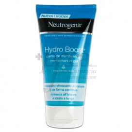 NEUTROGENA HYDRO BOOST HAND CREAM GEL 75 ML