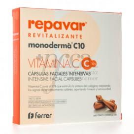 REPAVAR MONODERMA C10 REVITALIZING 28 TABLETS