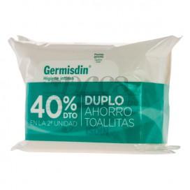 GERMISDIN HIGIENE INTIMA 2X 20 TOALLITAS PROMO