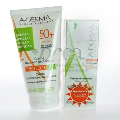 A-DERMA PROTECT AD SPF50 + EXOMEGA CREAM PROMO