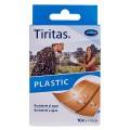 TIRITAS PLASTIC 10X6 CM 10 UDS