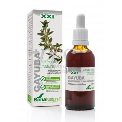 NATURAL BEARBERRY EXTRACT XXI SORIA NATURAL 50ML