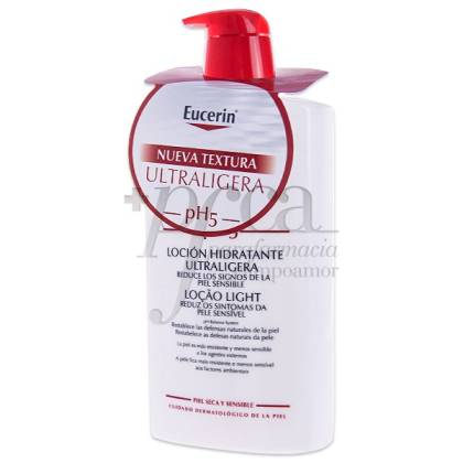 EUCERIN PH5 LOCION HIDRATANTE ULTRALIGERA 1000ML