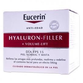 EUCERIN HYALURON-FILLER VOLUME LIFT DAY CREAM FOR NORMAL TO COBINATION SKIN