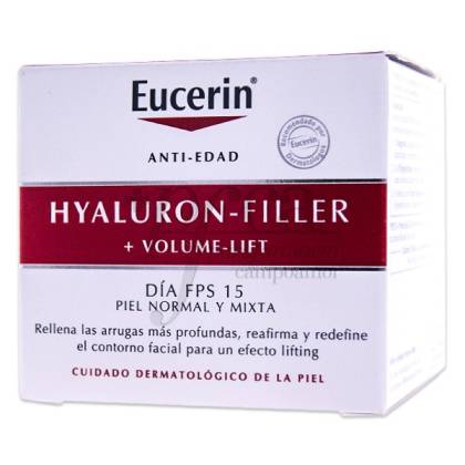 EUCERIN HYALURON FILLER VOLUME LIFT DIA P/NORMAL