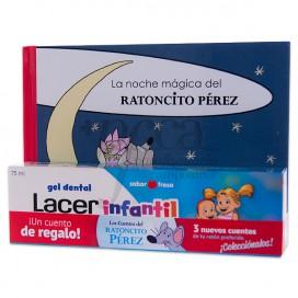 LACER INFANTIL SABOR FRESA 75ML + BUCH PROMO