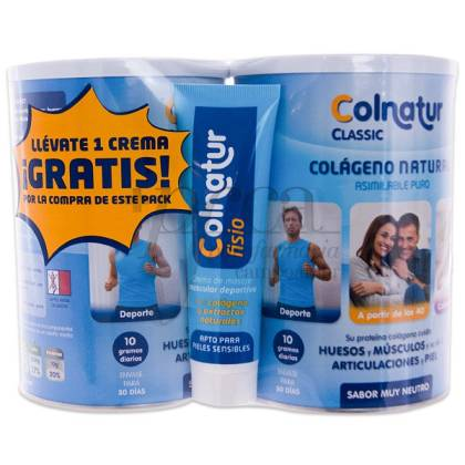 COLNATUR CLASSIC S.NUETRO 2X300G+REGALO PROMO
