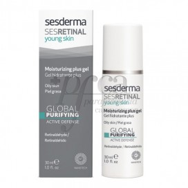 SESRETINAL YOUNG SKIN GEL HIDRATANTE PLUS 30 ML