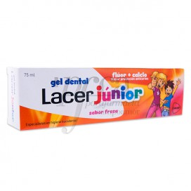 LACER JUNIOR STRAWBERRY TOOTH PASTE 75 ML