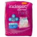 INDASEC DISCREET PANT PLUS GR/L 12 ST