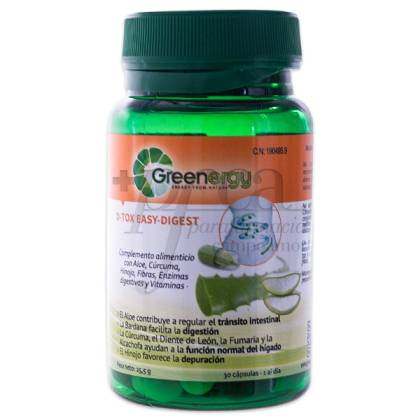 GREENERGY D-TOX EASY DIGEST 30 CAPSULES