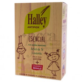 HALLEY ANTIPIOX ESENCIAL LOTION + SHAMPOO
