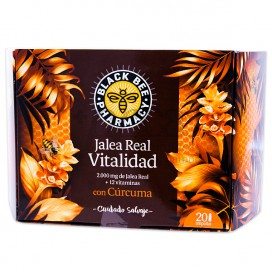 BLACK BEE PHARMACY JALEA VITALITY 20 AMPOULES 10ML