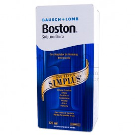 SOLUÇÃO ÚNICA BOSTON SIMPLUS 120 ML
