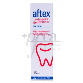 AFTEX PRIMERAS DENTICIONES GEL ORAL 15 ML