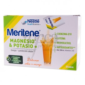 MERITENE REGENERIS 20 SOBRES NARANJA 4.2 G