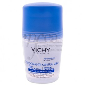 VICHY DESODORANTE ROLL-ON MINERAL 50 ML